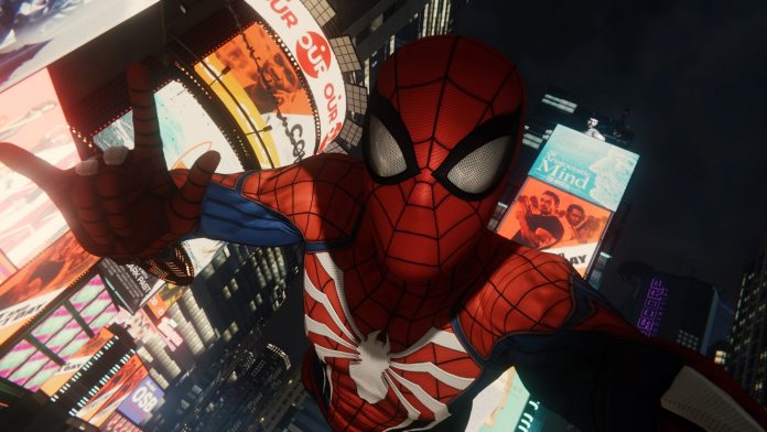 Get Spiderman Ps4 Selfie PNG