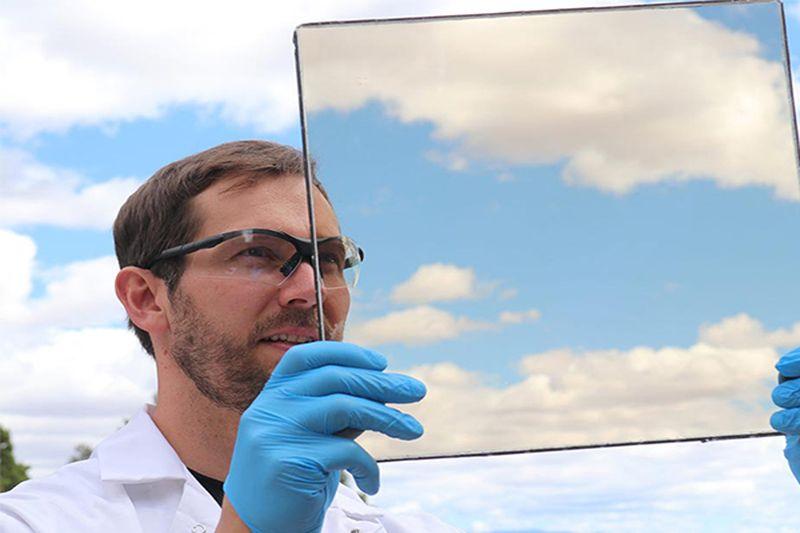 Gadgets,Geekerhertz,photovoltaic,energy,panels,solar,transparent,electromagnetic,